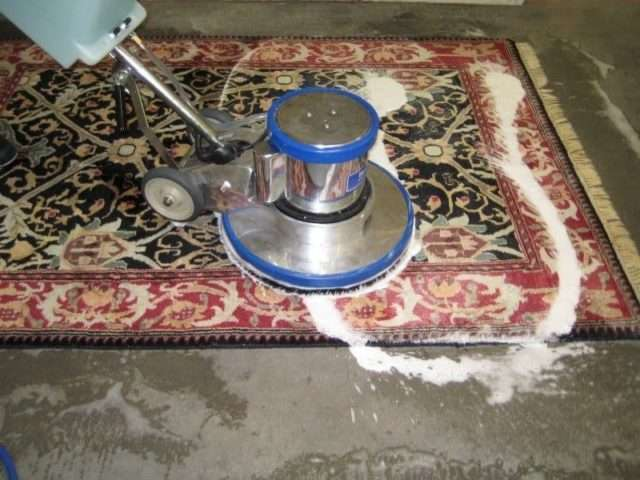 How Does a Professional Clean a Rug